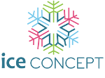 logo ice concept